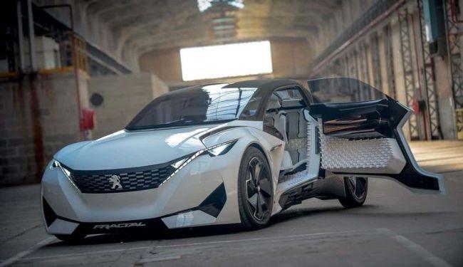 Yuk Intip Detail Mobil Konsep Peugeot Fractal