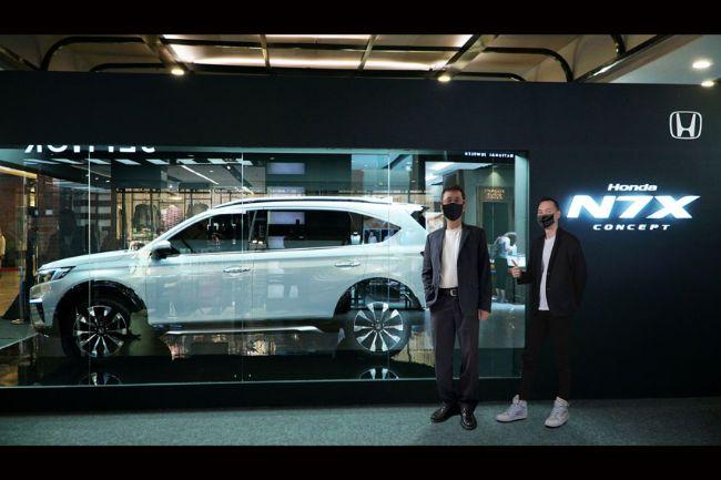 Roadshow Honda N7X Concept Kali Ini Sambangi Kota Semarang