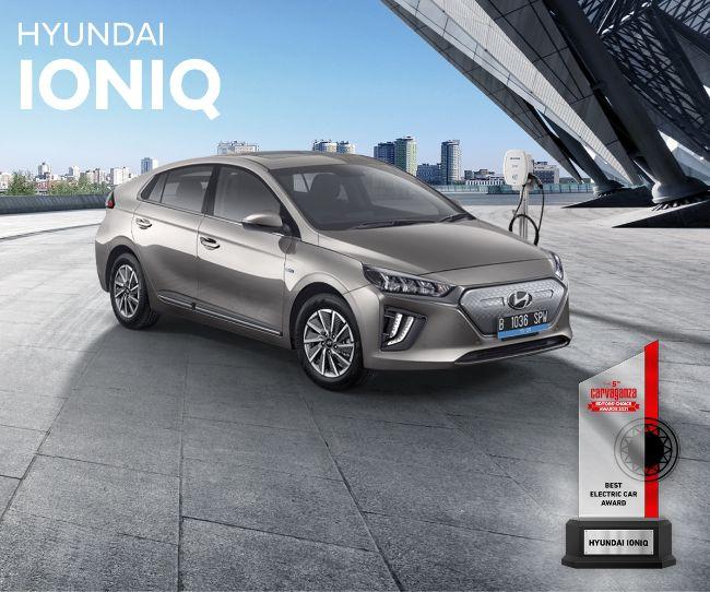 6 Hal Penting Hyundai IONIQ Electric, Peraih Best Electric Car Award